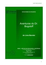 Aventuras do Dr. Bogoloff - Unama