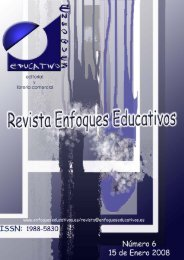 Revista Enfoques Educativos nº 6 - enfoqueseducativos.es