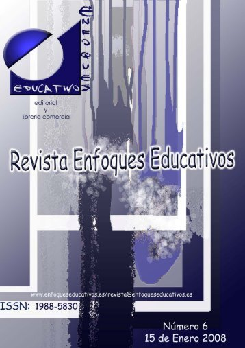 Revista Enfoques Educativos nº 6 - enfoqueseducativos.es