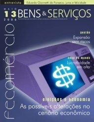 Edição 13 maio de 2006 PDF - Fecomércio