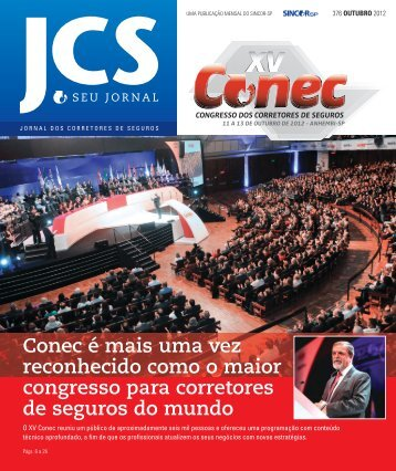 jornal dos corretores de seguros - Sincor SP