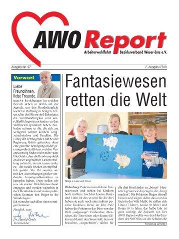 Fantasiewesen retten die Welt - AWO Bezirksverband Weser-Ems