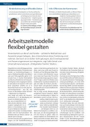 Arbeitszeitmodelle flexibel gestalten - AWO  Bezirksverband Weser ...