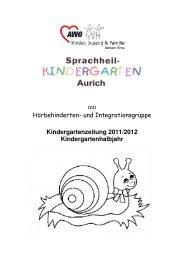 Kindergartenzeitung 2011/2012