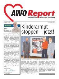 Kinderarmut stoppen – jetzt! - AWO Bezirksverband Weser-Ems
