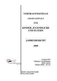 Jahresbericht 2009 - AWO Bezirksverband Weser-Ems