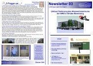 Newsletter 3 - AWO Bezirksverband Weser-Ems