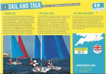 Sail and Talk - AWO Reise