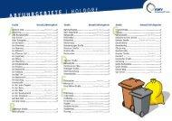 Abfuhrbezirke Holdorf - AWV-Online