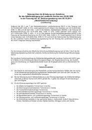 Gebührensatzung - AWV-Online