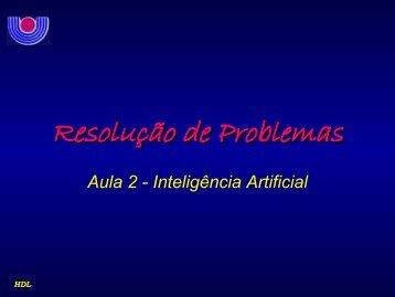 Resolução de Problemas - DAINF
