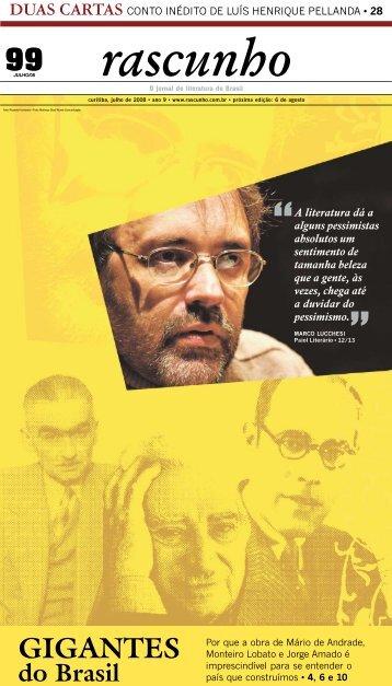 Edição 99 - Jornal Rascunho