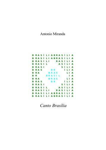 Canto Brasília - Antonio Miranda
