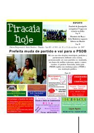 Confira... - Piracaiahoje.com.br