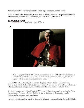 07 16 tuberculo renuncia por escandalos homosexuales en el ...