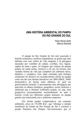 UMA HISTÓRIA AMBIENTAL DO PAMPA DO RIO ... - semapi