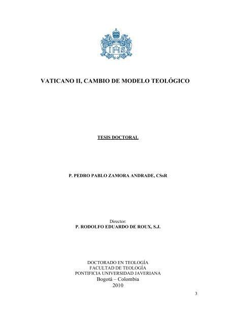Vaticano Ii Cambio De Modelo Teológico Pontificia
