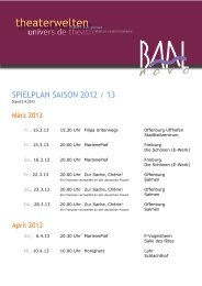Spielplan mit Kopf april 2013 - BAAL novo