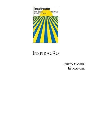 INSPIRAÇÃO - Chico Xavier Books