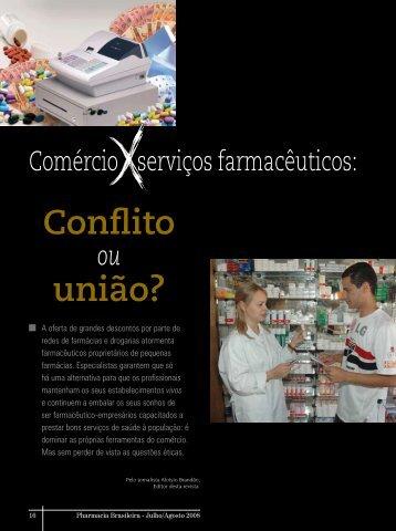 conflito ou união? - Conselho Federal de Farmácia