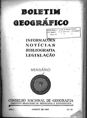 Programa de Geografia - Biblioteca - IBGE