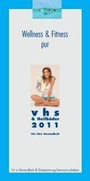 Broschüre vhs Heilbäder 2011 - Baden-Baden