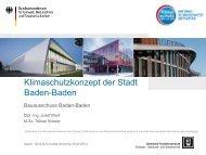 Klimaschutzkonzept der Stadt Baden-Baden
