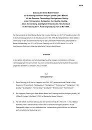 06-01 Satzung der Stadt Baden zur Erhaltung ... - Baden-Baden