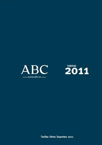 Tarifas Otros Soportes 2011 - ABC.es