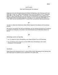 09-02 SATZUNG Über die Erhebung der Grundsteuer - Baden-Baden