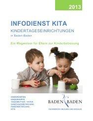 Infodienst Kita 2013 - Baden-Baden