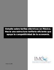 Estudio sobre tarifas eléctricas en México. Hacia una - Instituto ...