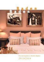 Deutsch (3,5 MB) - Baden-Baden