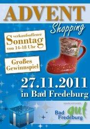 Sonntag - Bad Fredeburg