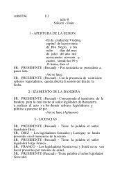 vt080794 1/1 julio 8 Saluzzi - Osán 1 - Legislatura de Río Negro