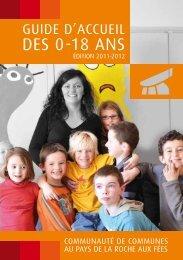 DES 0-18 ANS - Communauté de communes Au Pays de la Roche ...