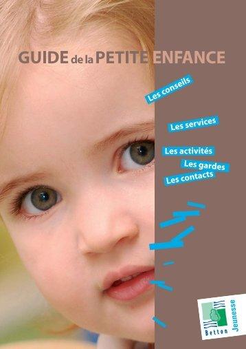 Le Guide de la petite enfance