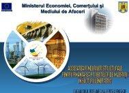 LOGO Ministerul Economiei, Comerţului şi Mediului ... - RETS Project