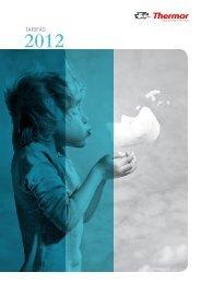 tarifas 2012 - Thermor