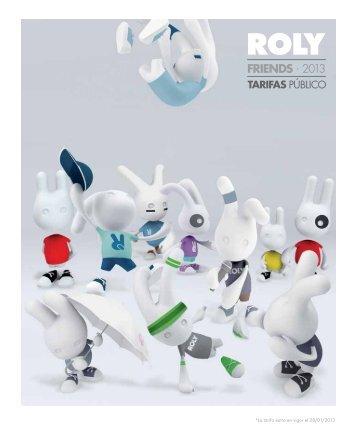 Tarifa ROLY PDF - Rafasshop.es