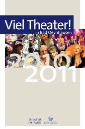 Viel Theater! iel Theater! - Bad Oeynhausen