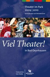 Download Programm TiP 2009/2010 - Bad Oeynhausen