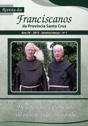 Revista Santa Cruz Ano 76 - 2012 - janeiro/março - Franciscanos ...