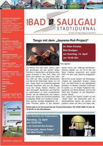 Bad Saulgau KW 14 ID 74140 - Stadt Bad Saulgau