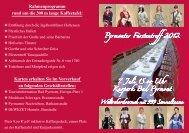 Den Flyer können Sie hier als pdf herunterladen! - Bad Pyrmont