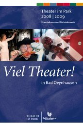 Viel Theater - Bad Oeynhausen