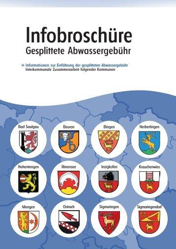 Infobroschüre » Gesplittete Abwassergebühr - Stadt Bad Saulgau