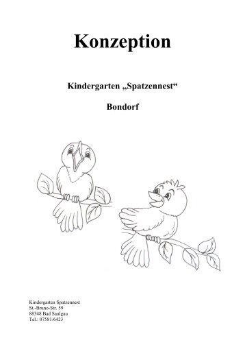 """Kindergarten """"Spatzennest"""" in Bondorf - Stadt Bad Saulgau"""