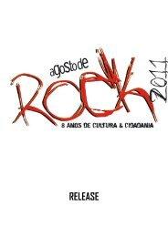 RELEASE 8º AGOSTO DE ROCK FESTIVAL ... - Som do Norte