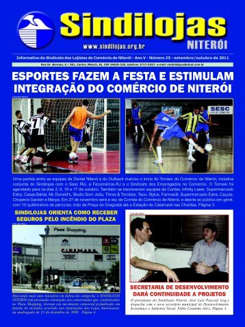 Uma partida entre as equipes da Dental Niterói e ... - Sindilojas Niterói